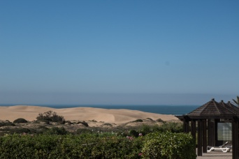 Just beyond these dunes sits a huge royal palace