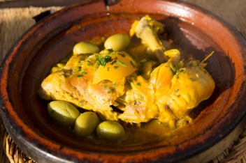 Traditional Chicken tagine