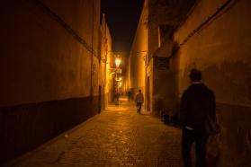 Marrakesh at night