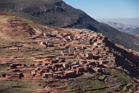 Berber village not far from Marrakesh