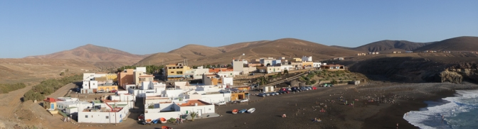 The fishing village of Ajuy